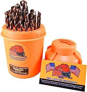 Drill Hog 29 Pc Super Premium Cobalt M42+ Drill Bit Set