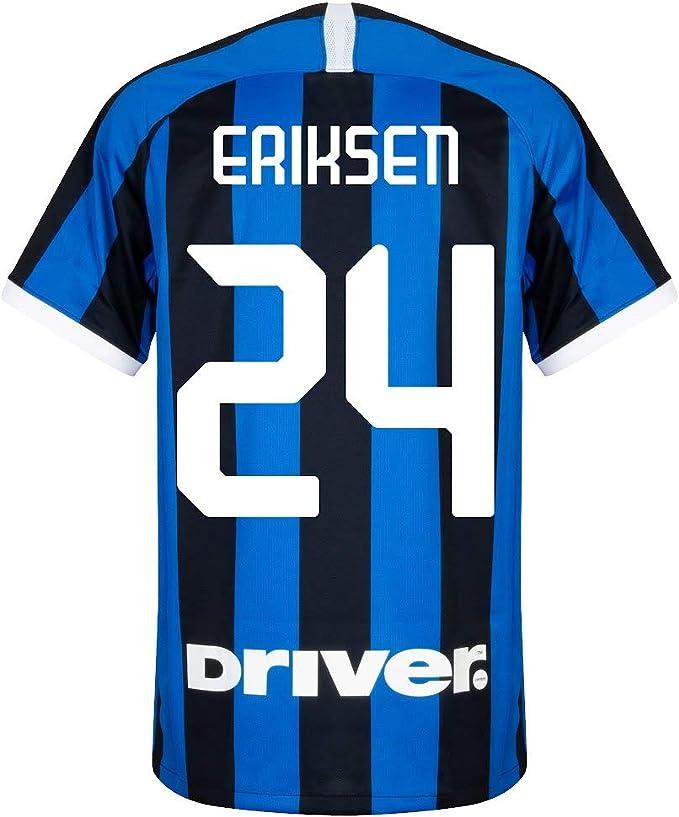 Nike - Maglia Inter Milan Home Eriksen 24 2019-2020, Uomo, Blu e ...