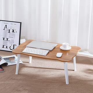 Table Laptop Computer Stands Portable Standing Desk Multifunction Bracket Home Outdoor Foldable Picnic Artificial Wood Boa...