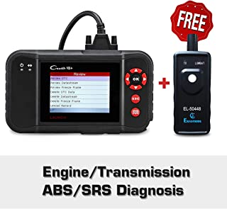 LAUNCH Black Creader VII+ OBD2 Scanner ABS SRS Transmission and Engine Code Reader Diagnostic Scan TPMS Activation Tool Gift