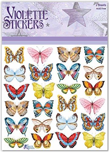 Violette Stickers LIttle Butterflies