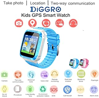 YealshaChildren's GPS Base Station Tracking Positioning Phone Smart Watch Children Pedometer Smart Wrist Watch Great Gift for iOS Android