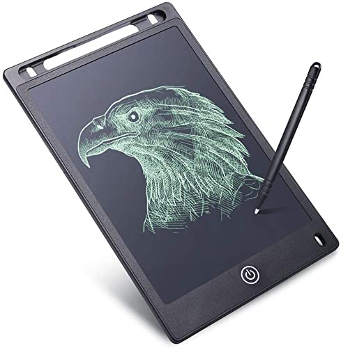 Qualimate Electronic LCD Writing Tablet for Kids Writing Pad Board 8 5 Inch Slate New Gadgets Gift for Kids Multi Color
