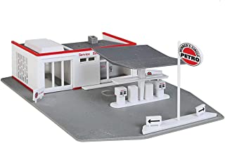 Walthers Trainline HO Scale Model Gas Station Kit