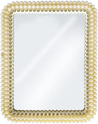 Majik Makeup Mirror For Men And Women Home And Parlour White, 40 Gram, Pack Of 1 (Small)