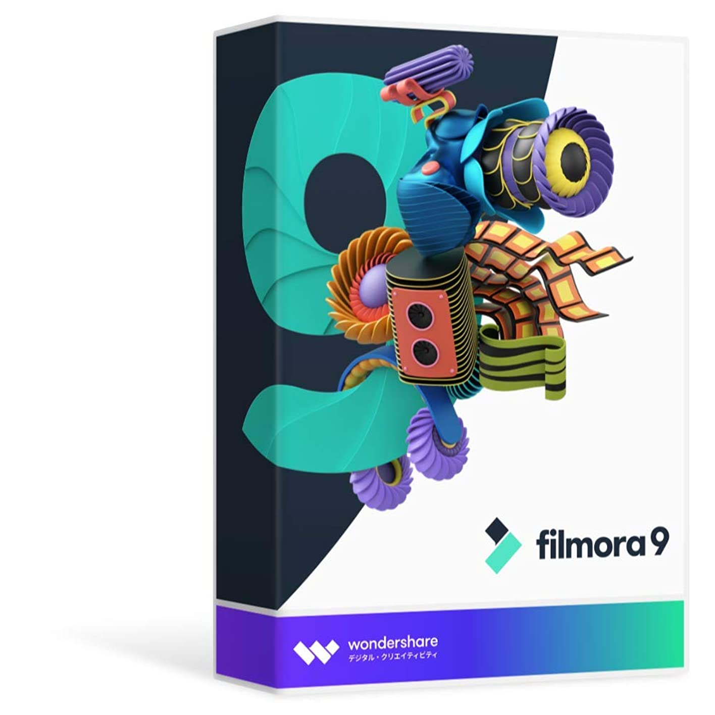 濃度懲戒スカープWondershare Filmora 9 次世代 動画編集ソフト Windows版 永久ライセンス パッケージ版