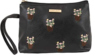 Flower Pot Embroidered Allpurpose Pouch