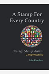 A Stamp For Every Country: Postage Stamp Album - Comprehensive Hardcover