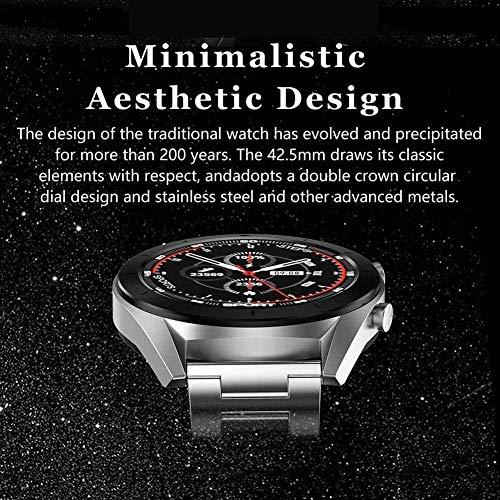 JSL Dt99 Reloj Inteligente Ip68 Impermeable Ronda Hd Pantalla ECG Detección Reemplazable Reloj Inteligente Fitness Tracker Hombre Pk Dt78 Dt68 Dt88-G-C