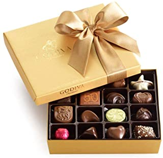 Godiva Chocolatier Classic Gold Ballotin Chocolate, Perfect Hostess Gift, Gifts for Her, Mothers Day Gift, Chocolate Lover...
