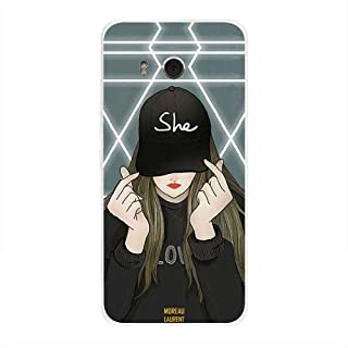 HTC U11 Case Cover She on Cap, Moreau Laurent Premium Phone Covers & Cases Design