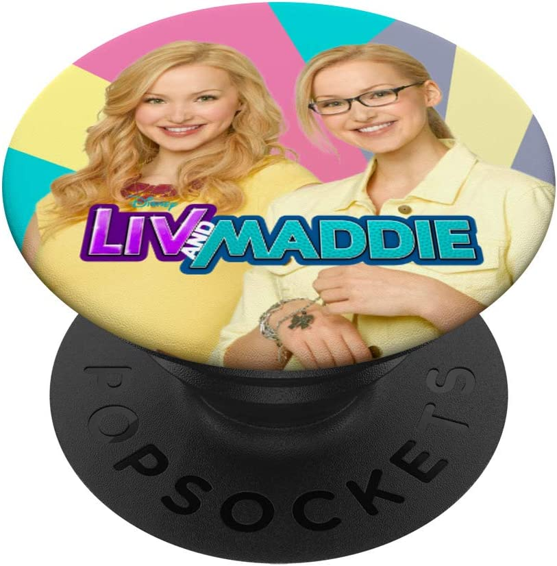Disney Channel Liv and Maddie PopSockets PopGrip: Swappable Grip for Phones & Tablets
