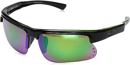 Revo Mens Polarized Sunglasses Baseliner Wraparound Frame