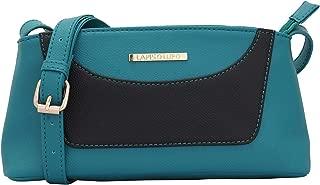 Lapis O Lupo Dira Women's Tourquise Sling Bag Multi-functional pocket design