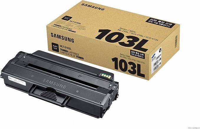 Samsung Mlt D103l Original Toner Trommel Hohe Reichweite Kompatibel Mit Ml 2950 2955 Scx 4705 4726 4727 4728 4729 Schwarz Bürobedarf Schreibwaren