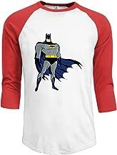 ALIIXUN2 Men's Bathero 3/4 Sleeve Baseball T Shirts/Short Sleeve/Top/Tee