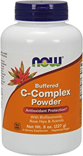 NOW Supplements, Vitamin C-Complex Powder, 8-Ounce