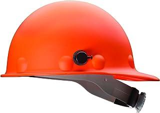 Fibre-Metal by Honeywell P2AQRW46A000 Super Eight Fiber Glass Cap Style Ratchet Hard Hat..
