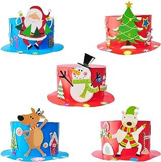 Manualidades Gorros De Navidad.Amazon Es Gorro Navidad Actividades Creativas Juguetes Y