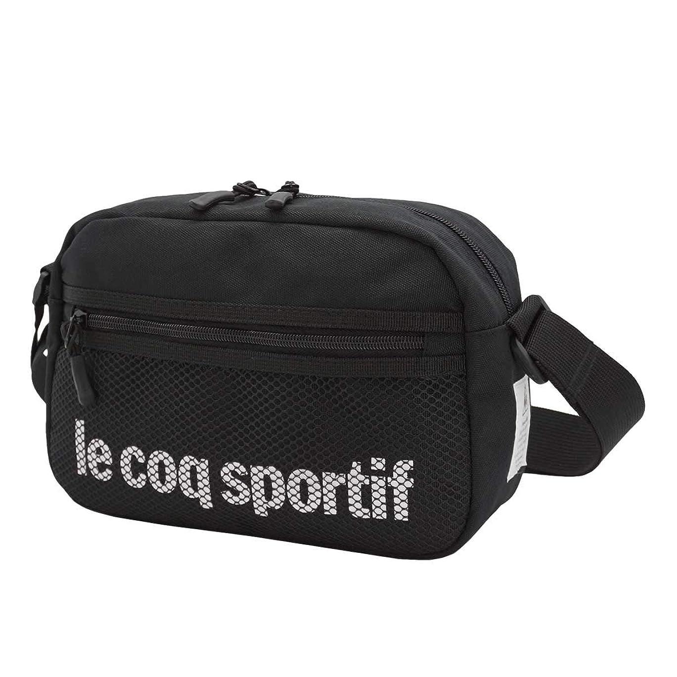 のみする必要がある幸運な[ルコック スポルティフ] le coq sportif ショルダーバッグ ショルダー メッシュ メンズ レディース ヨコ型 036725