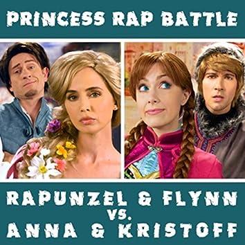 Rapunzel & Flynn vs. Anna & Kristoff (Princess Rap Battle)