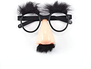Hot1Pcs Fake Nose Eyebrow Mustache Clown Fancy Dress up Costume Props Fun Party Favor Glasses WholesaleNew