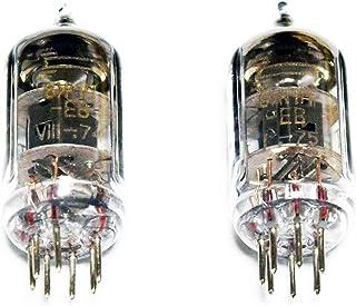【高信頼EVタイプ軍用管】TUBE-01 (J) TUBE-02 (J) TUBE-03(J) 交換用ロシア製真空管 6Ж1П-EB (6J1P-EV) 6J1の上位互換 VOSKHOD 2本セット テスト選別品