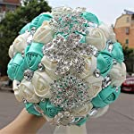 Bridal Bouquet, Beautiful Artificial Flower, Fake for Celebrating Activities Parties Proposal Valentine's Day Wedding Birthdays Special Occasions