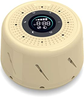 White Noise Sound Machine, Bestand Sleep Sound Device with LED Screen Display and Sleep Timer Soothing Natural Sound from ...