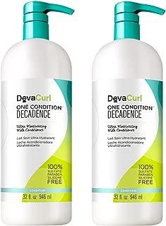 DevaCurl SuperCream Coconut Curl Styler, 5.1oz (2 Pack)