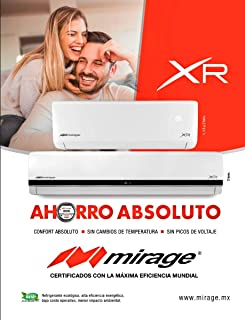 Mini split Mirage XR solo frío 12000 btus 220v