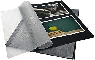 goldbuch 83006 - Cartón fotográfico con pergamino, 20 hojas, para carpetas de fotos Bella Vista y carpetas, relleno de álb...