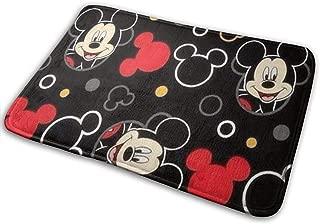 Doormat Soft Carpet Entrance Mat Stylish Mickey Mouse Design for Patio, Front Door, Bathroom, Balcony