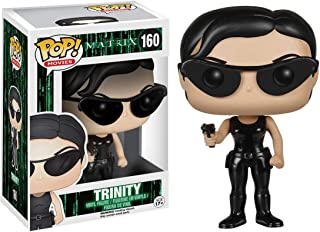 Funko Trinity: The Matrix x POP! Movies Vinyl Figure & 1 POP! Compatible PET Plastic Graphical Protector Bundle [#160 / 05090 - B]