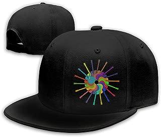 colorful baseball caps