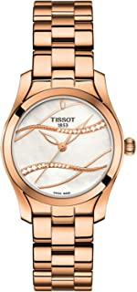 Tissot Women's White Dial Metal Band Watch - T112.210.33.111.00