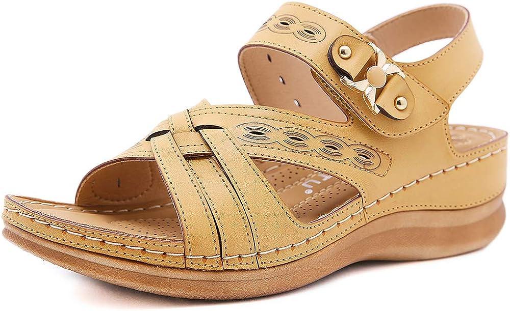 ZAPZEAL Women Wedge Sandals Inexpensive Platform SEAL limited product Summer Comfort Walkin Shoes