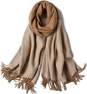 Winter cashmere plaid Warm scarf female long paragraph scarf thick shawl dual use Wrap Tartan Wrap Tassel Soft Cotton