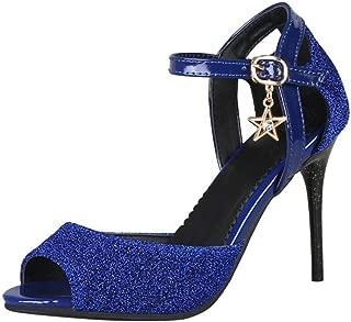 FANIMILA Women Fashion Summer Shoes Stiletto Heels Sandals