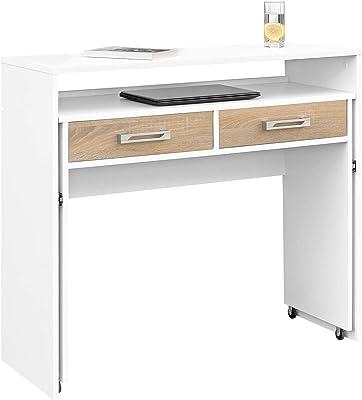 HOMCOM 2454140031 mesa de escritorio para ordenador mobiliario de ...