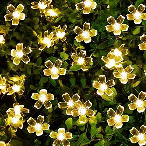Garten Led Lichterkette, Warm White Star Fairy Lampe Geeignet Für Schlafzimmer Wohnzimmer Weihnachtsbaum Dekor Hochzeit Garten Party Indoor Und Outdoor