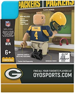 OYO Sports NFL Green Bay Packers Sports Fan Bobble Head Toy Figures, Green/Yellow, One Size