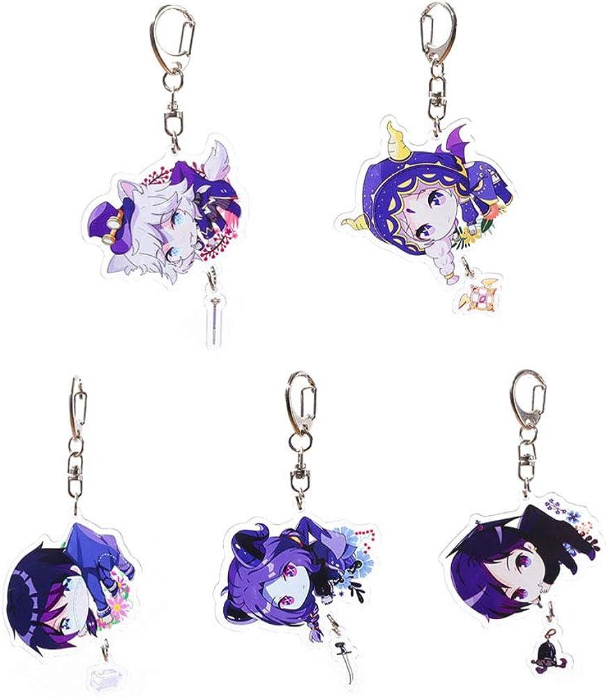 Identity V Keychain Anime Acrylic Mail order Keyring Character ...