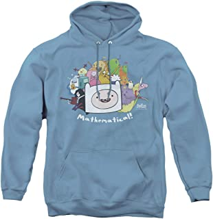 Adventure Time Mathematical Unisex Adult Pull-Over Hoodie for Men and Women