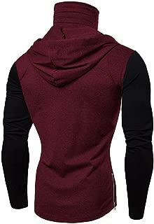 Men's Midweight Original Fit Hooded Pullover Sweatshirt Fashion Top for Men Hipster Hip Hop T Shirt Halloween LIM&Shop