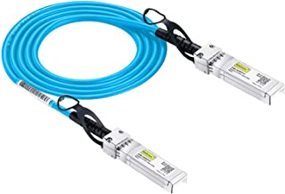 10Gtek # Blue Cable # for Ubiquiti SFP+ Direct Attach Copper Cable, 10G 1-Meter SFP DAC Twinax Cable, Passive