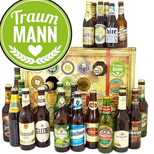 Traummann + Bier Adventskalender mit Bieren der Welt und Deutschland + Biere der Welt und Deutschland