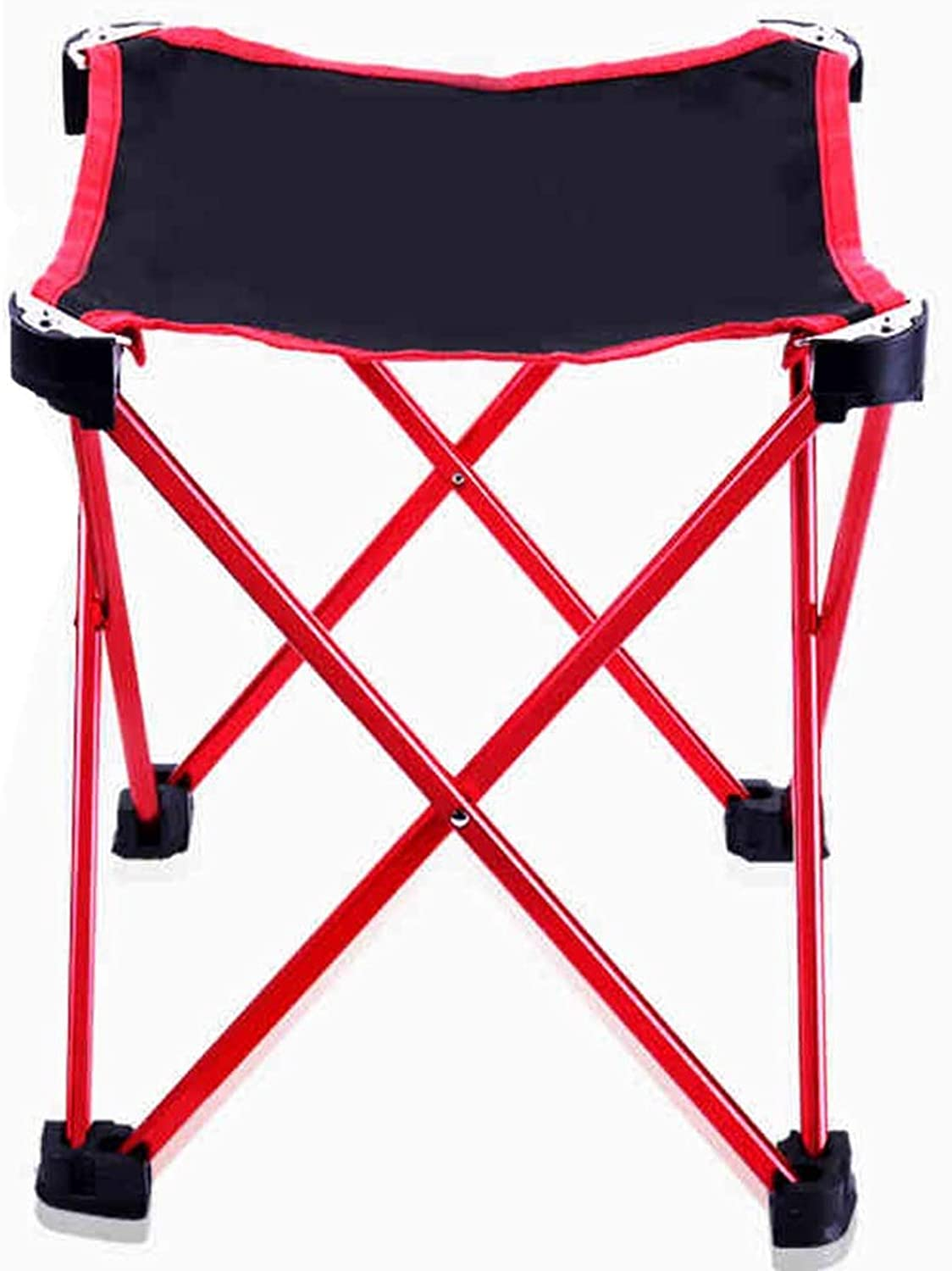 Fishing Chair Fishing Stool Portable Folding Outdoor Fishing Stool Multifunctional Lightweight Aluminum Travel Fishing Chair (color   Red, Size   19  18cm)