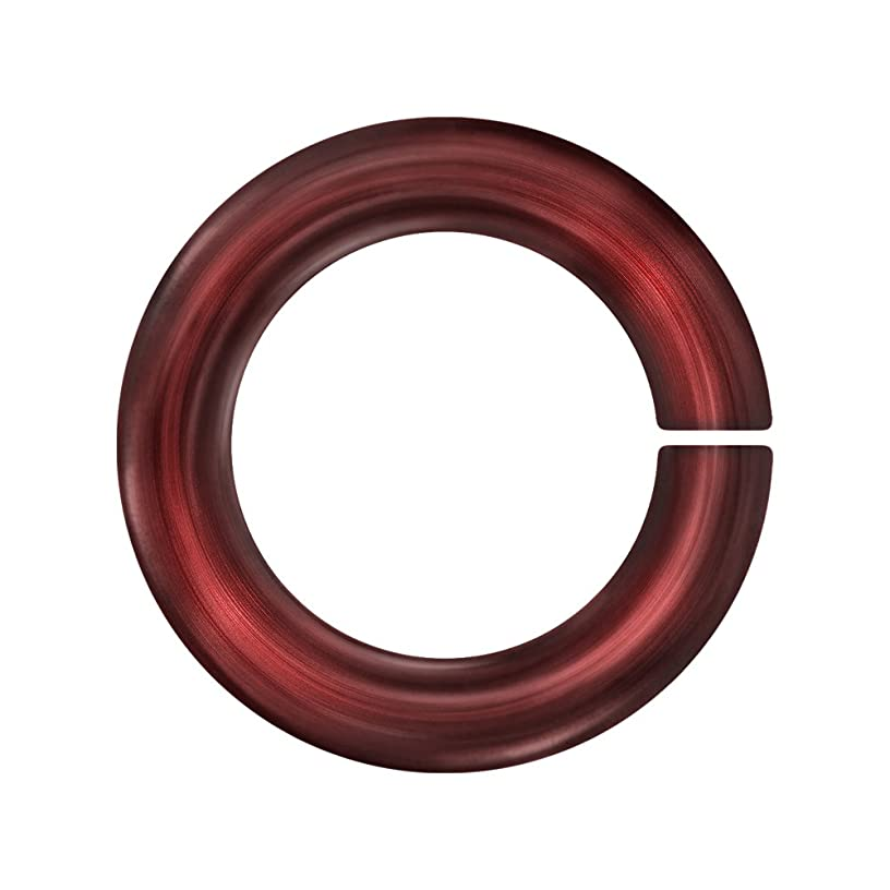Weave Got Maille 18-Gauge 5.5mm Marsala Anodized Aluminum Jump Rings - 100 Pieces