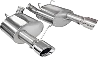 CORSA 14317 Xtreme Stainless Steel Axle-Back Exhaust System Kit with 4
